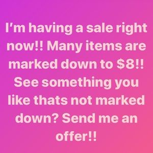 COPY - MANY ITEMS ARE MARKED TO $8